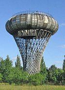 Ciechanow water tower