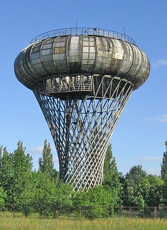 Ruled surface - Image: Ciechanow water tower