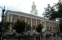 City Hall Burlington Vermont from southeast on Main Street.jpg