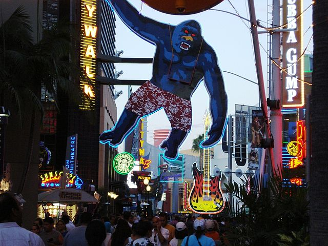 Universal City Walk Restaurants Los Angeles
