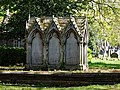 City of London Cemetery - St Dionis Backchurch reburials monument - Newham, London England 4.jpg