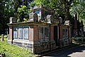 City of London Cemetery Anchor Road south side first Pedley family vault 3.jpg