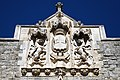City of London Cemetery Main Gate coat of arms 2 brighter.jpg