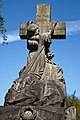 City of London Cemetery To Thy Cross Simply I Cling monument sculpture 1.jpg