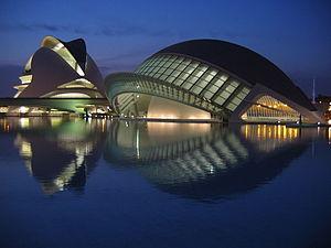 The Hemispheric at the Ciutat de les Arts i le...
