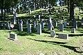 Civil War veterans graves Rienzi Cemetery 2.jpg