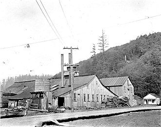Aberdeen, Washington - Ellmore Packing Co. clam and salmon cannery in Aberdeen, 1915