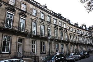 Robert Blair (minister) - Blair's house, 12 Clarendon Crescent, Edinburgh