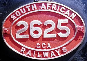 South African Class GCA 2-6-2+2-6-2 - English only
