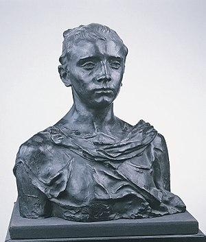 Paul Claudel - Paul Claudel, age sixteen, by his sister, Camille Claudel