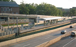 Clayton MetroLink station.jpg