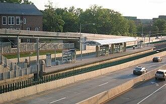 Clayton station - Image: Clayton Metro Link station