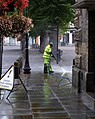 Cleaning the Market Place, Salisbury - geograph.org.uk - 1399631.jpg