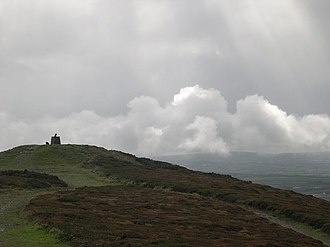 St Agnes, Cornwall - Clearing skies over St Agnes Beacon