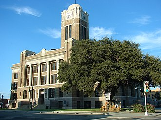 Cleburne, Texas - Johnson County courthouse