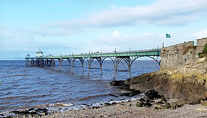 Clevedon Pier - The pier from Clevedon seafront
