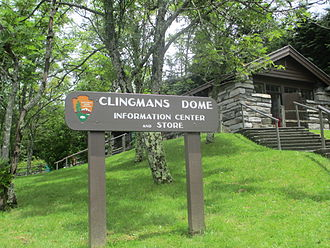Clingmans Dome - Information Center, July 2012