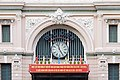 Clock and exterior of Saigon Central Post Office.JPG