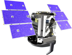 CloudSat spacecraft model.png