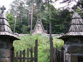 Gładyszów - Image: Cmentarz 55 Gładyszów 03