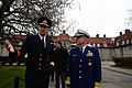 Coast Guard Commandant Adm. Bob Papp visits with members of the Royal Danish Naval Academy 131122-G-VG516-050.jpg