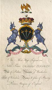 Charles Powlett, 5th Duke of Bolton British politician