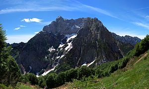 Venetian Prealps - Northern slopes of Col Nudo