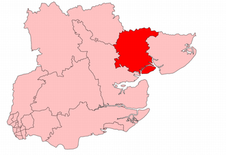 Colchester (UK Parliament constituency) - Colchester in Essex 1918-50