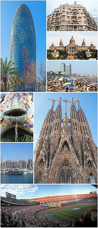 Barcelona - Image: Collage Barcelona