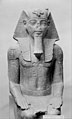 Colossal Seated Statue of Amenhotep III, Reinscribed by Merneptah MET 51272.jpg