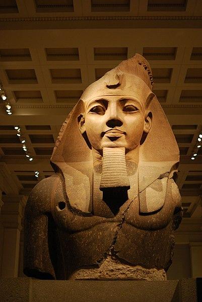 London British Museum Ramses II