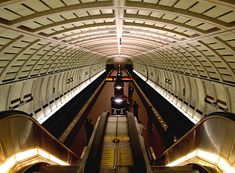 Columbia Heights station - Image: Columbia Heights metro station