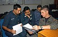 Combined exchange training with the Indian Armed Forces, at Air Force Station Agra 2002 4.jpg