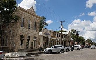Comfort, Texas - Historic downtown Comfort