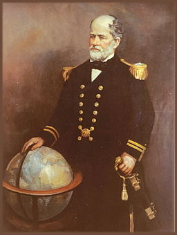 Commander Matthew Fontaine Maury USN painting