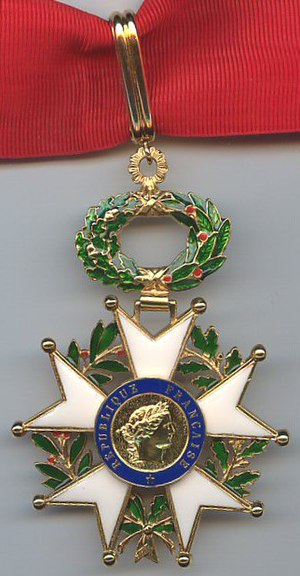 Commander (order) - Insignia of the rank of Commander in the Legion of Honor