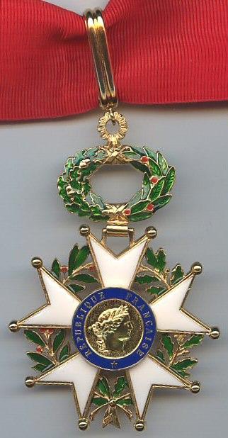 Commandeur de l'Ordre de la Légion d'Honneur avers