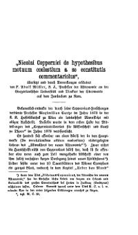 Commentariolus 1899 German Translation Adolf Müller.djvu