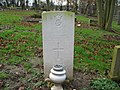 Commonwealth War Grave in Jarrow Cemetery (WW2-27) - geograph.org.uk - 1605031.jpg