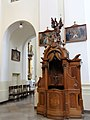 Confessional in the Saint Francis church in Warsaw - 06.jpg