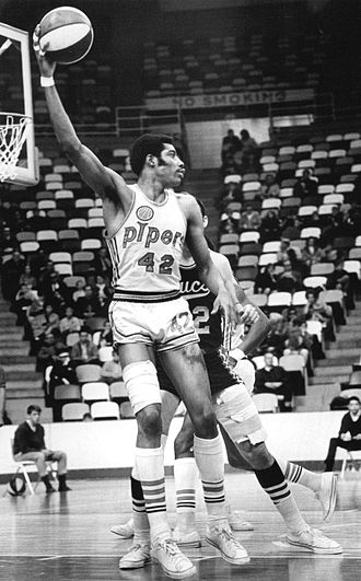 Pittsburgh Condors - Connie Hawkins in 1968-69 at Met Center in Bloomington, Minnesota
