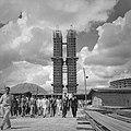 Construção do Congresso Nacional Esplanada dos Ministérios 1959-10.jpg