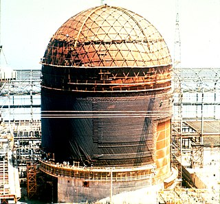 Nuclear decommissioning process whereby a nuclear power plant site is dismantled