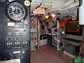 Control room of the Onondaga submarine, Site historique maritime de la Pointe-au-pere, Rimouski, Quebec, Canada - 2012-09.JPG