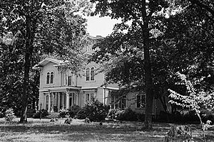 National Register of Historic Places listings in Edgecombe County, North Carolina - Image: Coolmore, U.S. Route 64, Tarboro vicinity (Edgecombe County, North Carolina)
