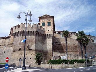 Corinaldo - Walls of Corinaldo.