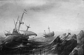 Shipwreck in Stormy Weather