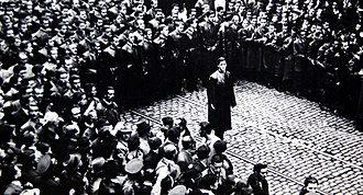 Iron Guard - Corneliu Zelea Codreanu and Iron Guard members in 1937