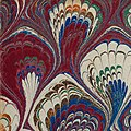 Corner detail, Marbled endpaper from Die Nachfolge Christi ed. Ludwig Donin (Vienna ca. 1875) 500ppi (cropped).jpg