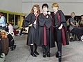Cosplayers of Hermione Granger, Harry Potter and Ron Weasley 20180519a.jpg